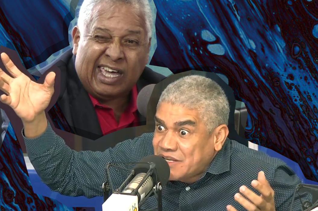 Melton Pineda y Holí Matos discuten sobre quién hace más coro con delincuentes